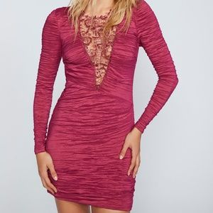 Free People NWT Look Of Love Dress